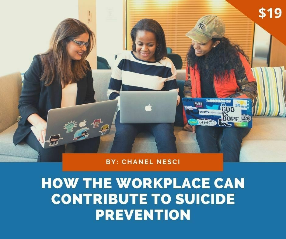 How the workplace can contribute to suicide prevention