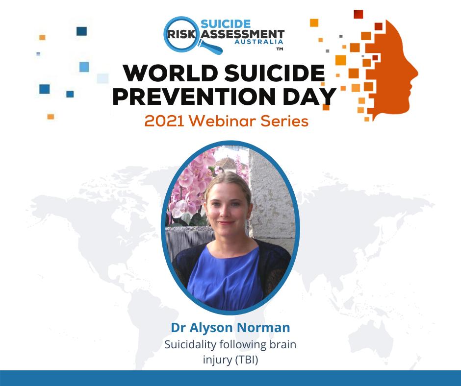 Suicidality following brain injury (TBI)