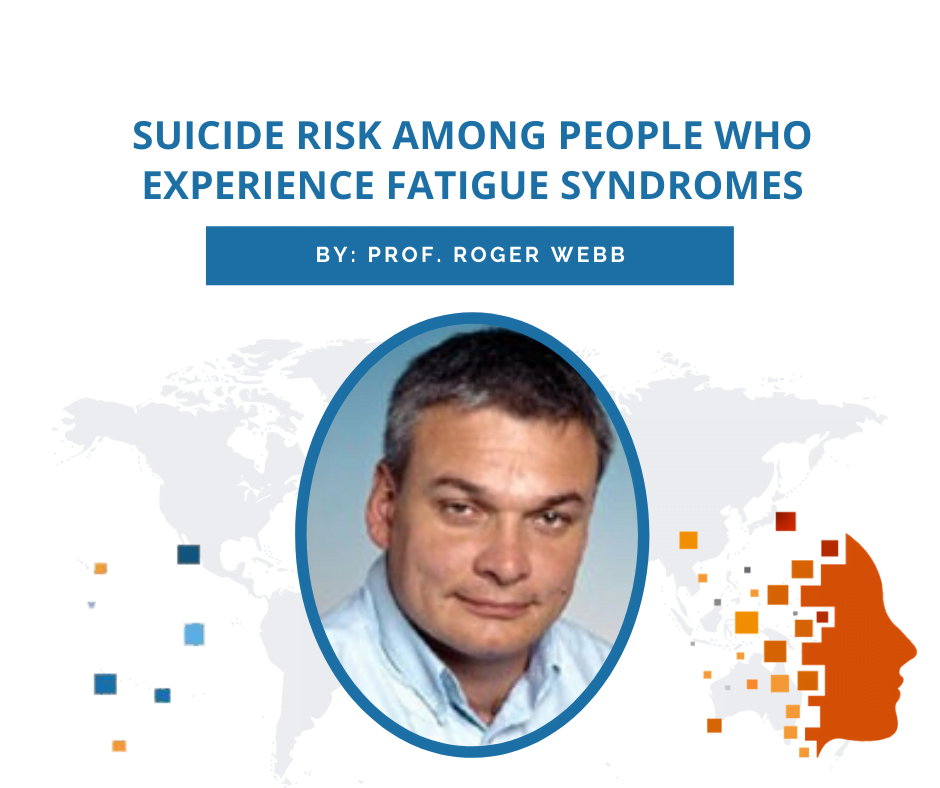 Suicide risk among people who experience fatigue syndromes