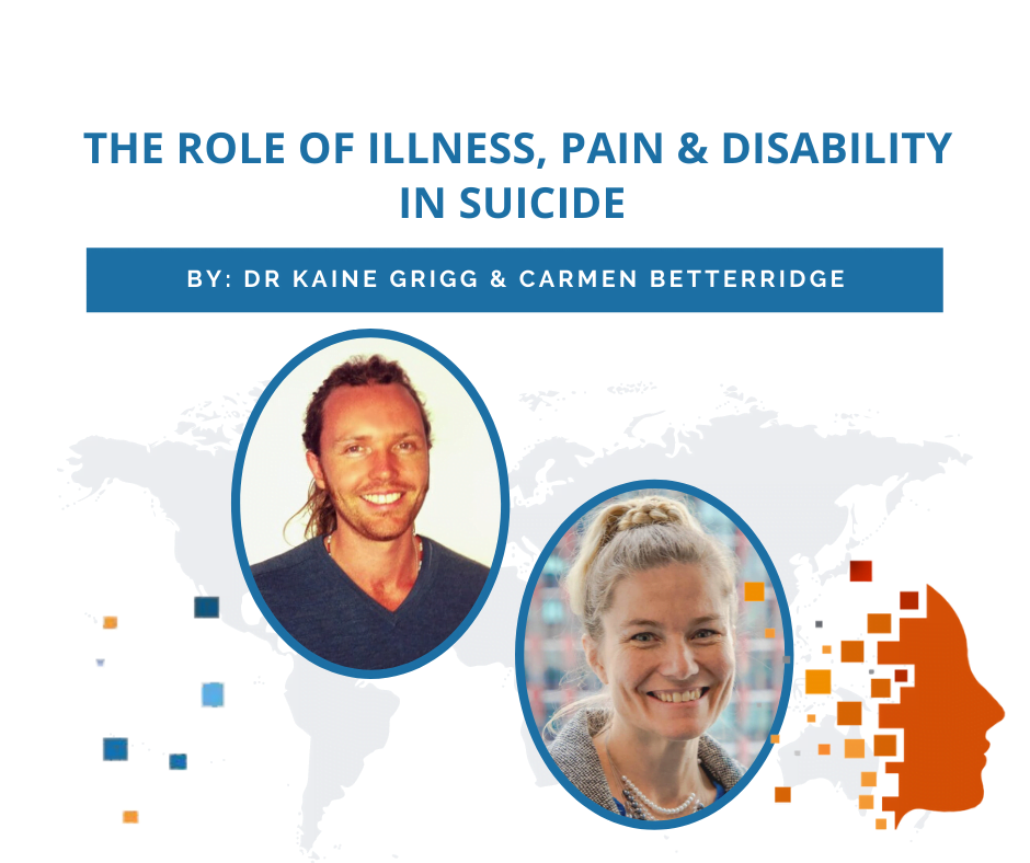 The role of illness, pain, and disability